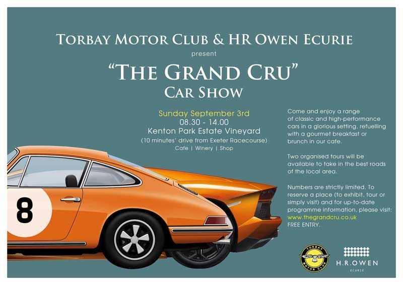 The Grand Cru Car Show